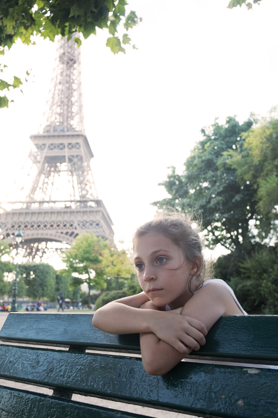 travel family portraiture  by Erin Borzellino. Paris