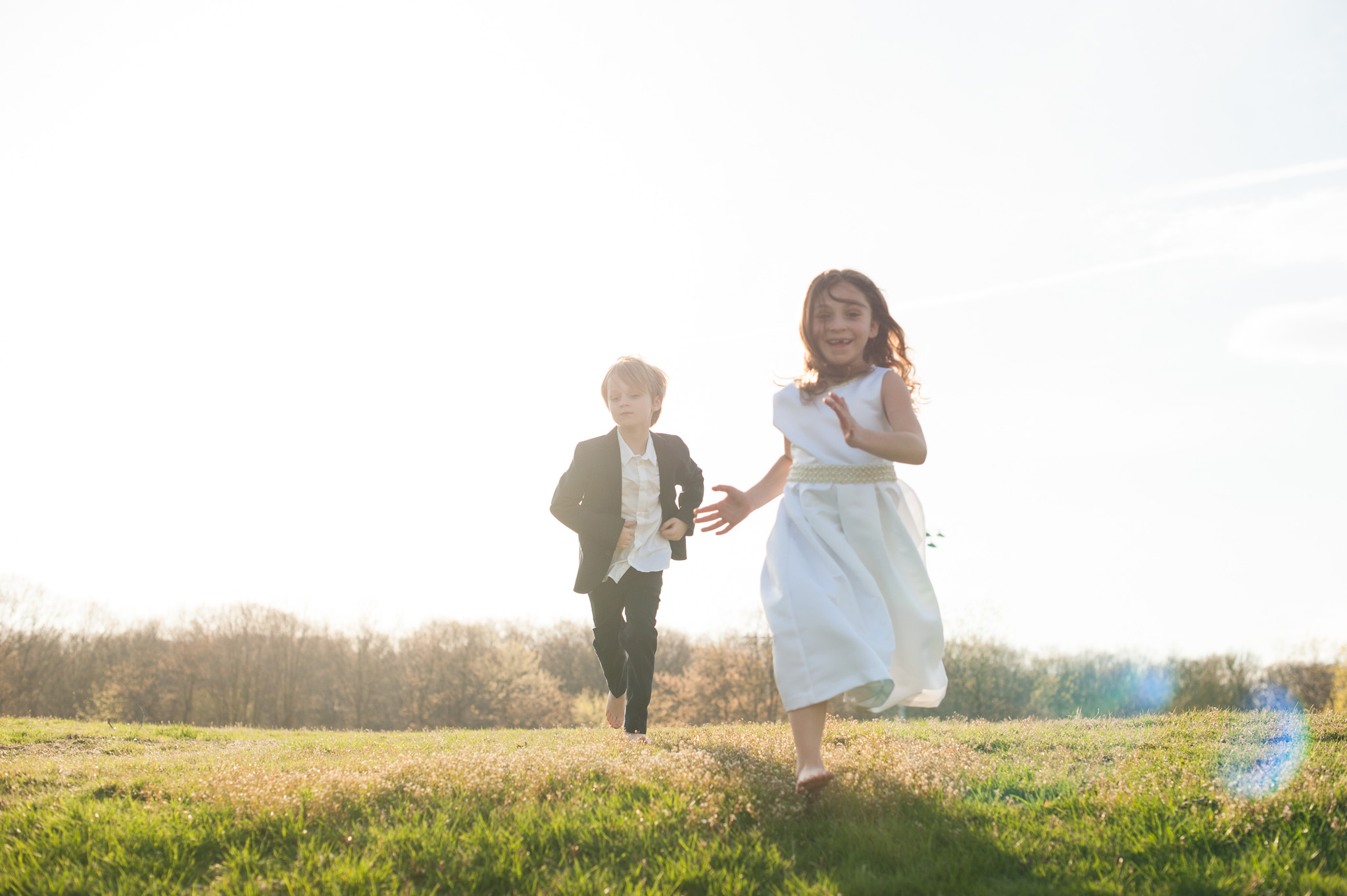 unconventional first communion portraits by Erin Borzellino. NYC area