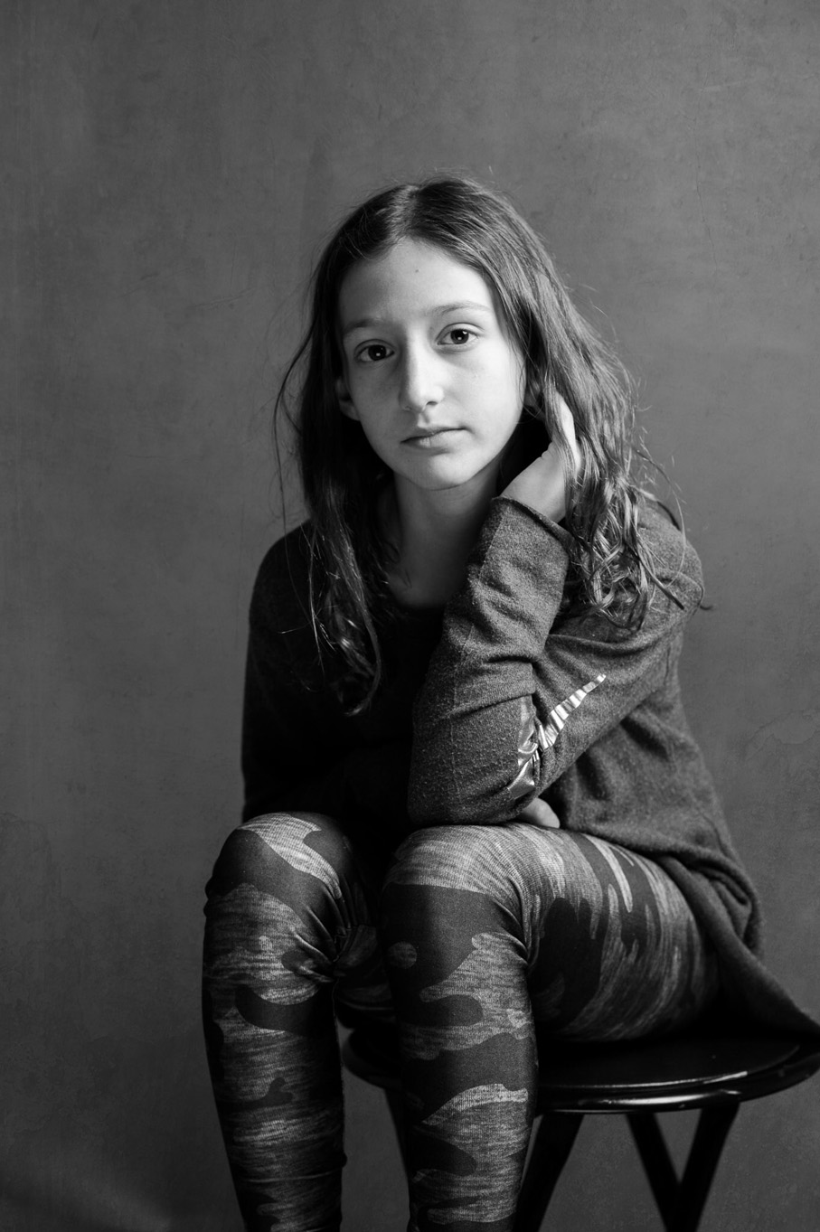 children studio portraiture by Erin Borzellino. Westchester County NY