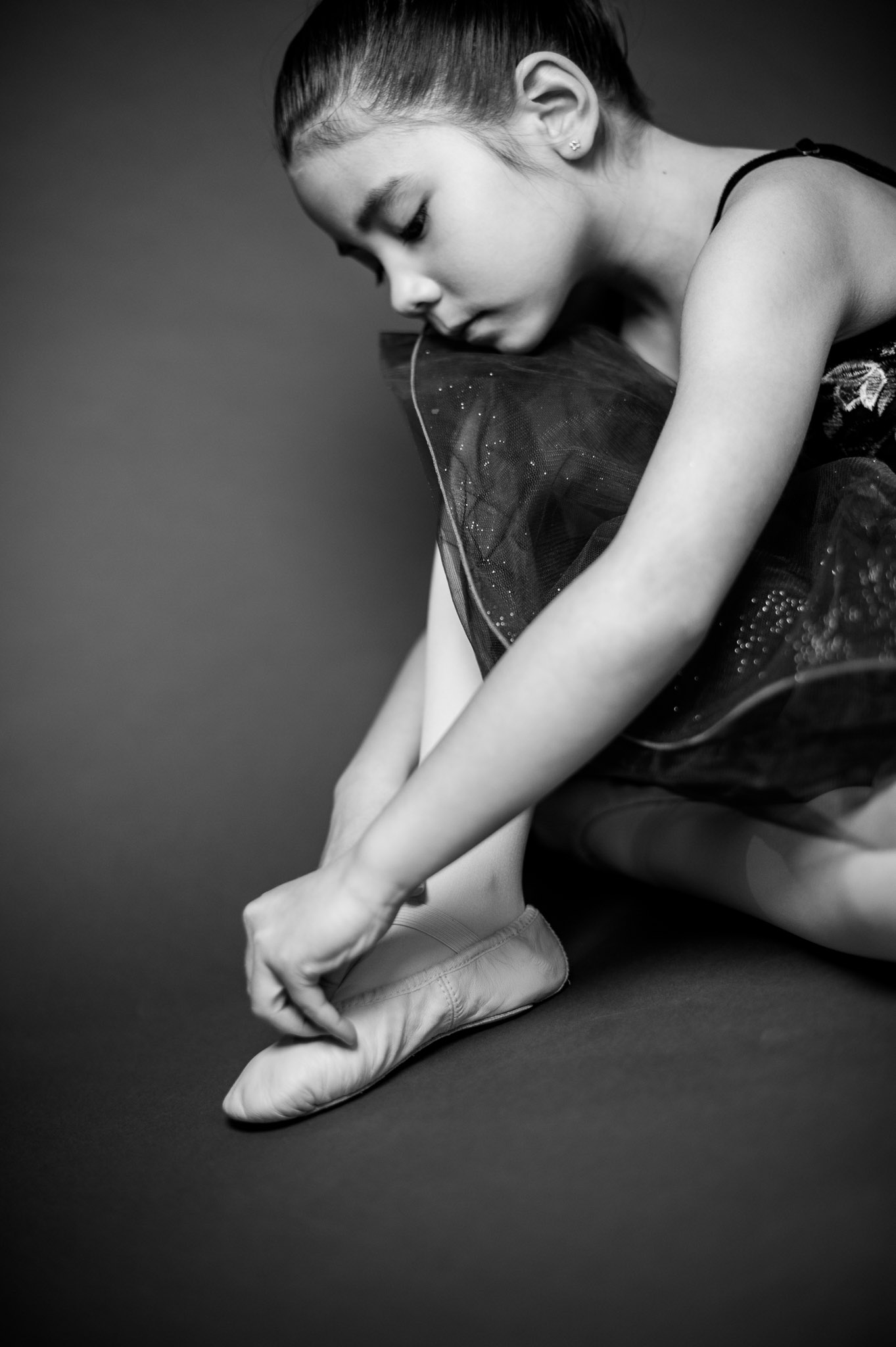 ballet studio portraits by Erin Borzellino. NYC area portrait photographer