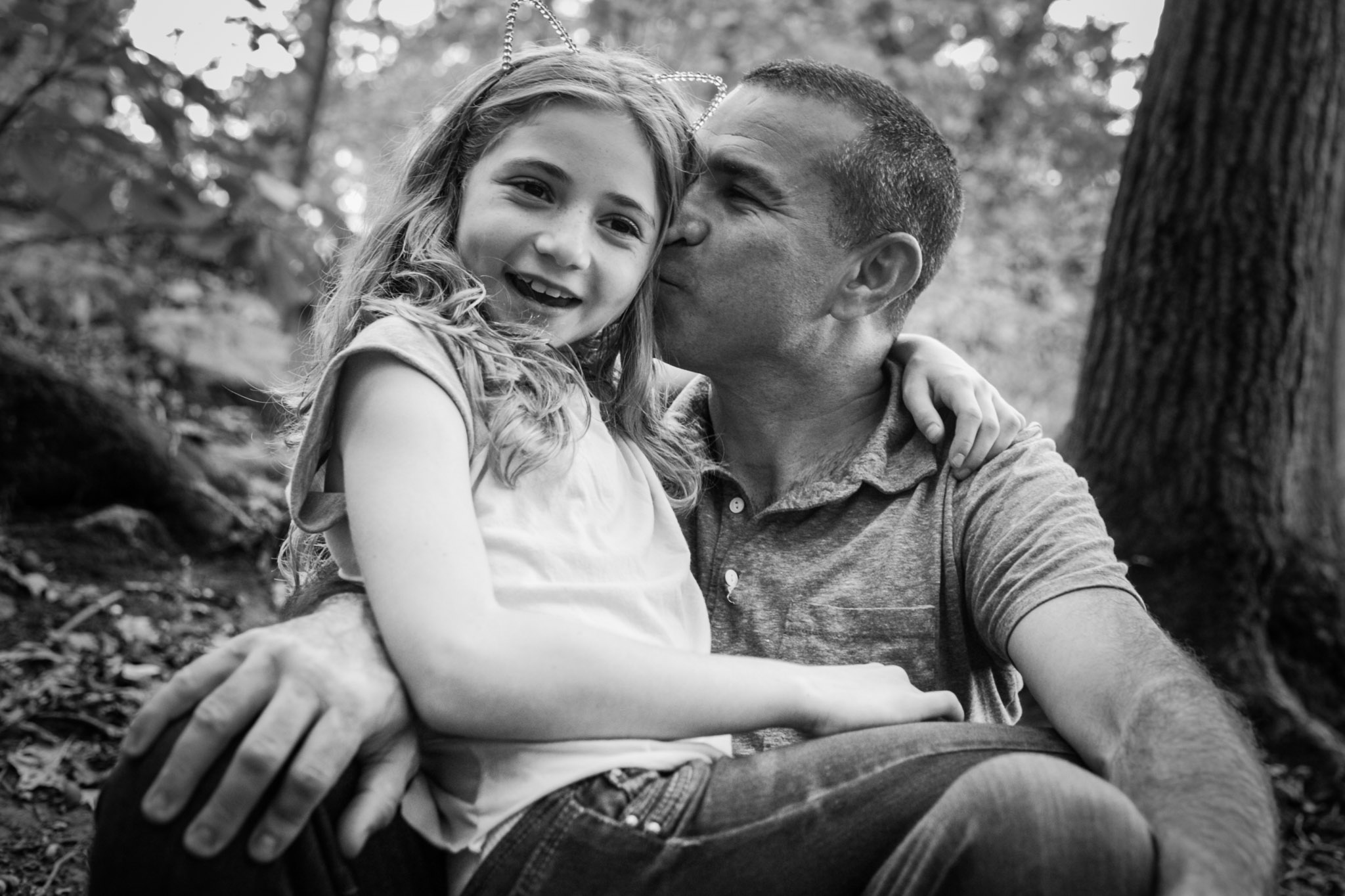 father and daughter portrait by Erin Borzellino. Westchester NY portrait photographer